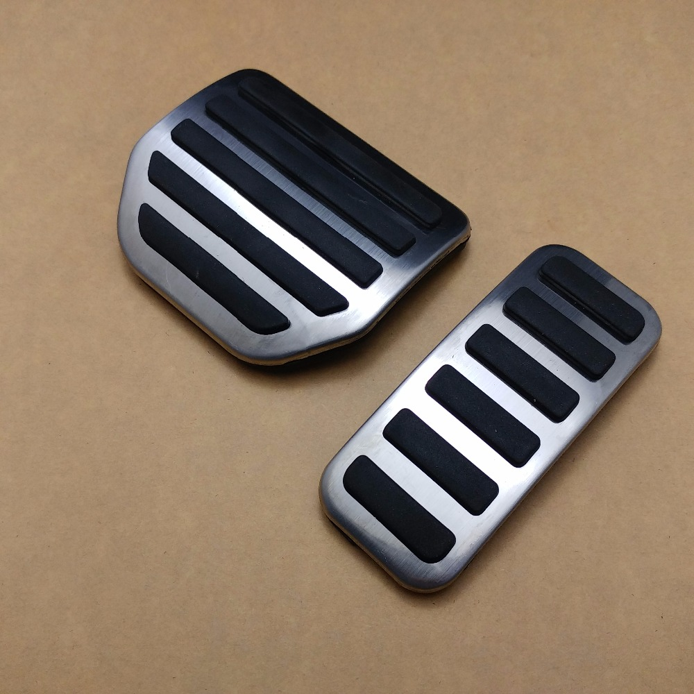 2pcs Gas Fuel Brake Foot Pedal AT For Land Rover Range Rover Sport 2004-2013 ...