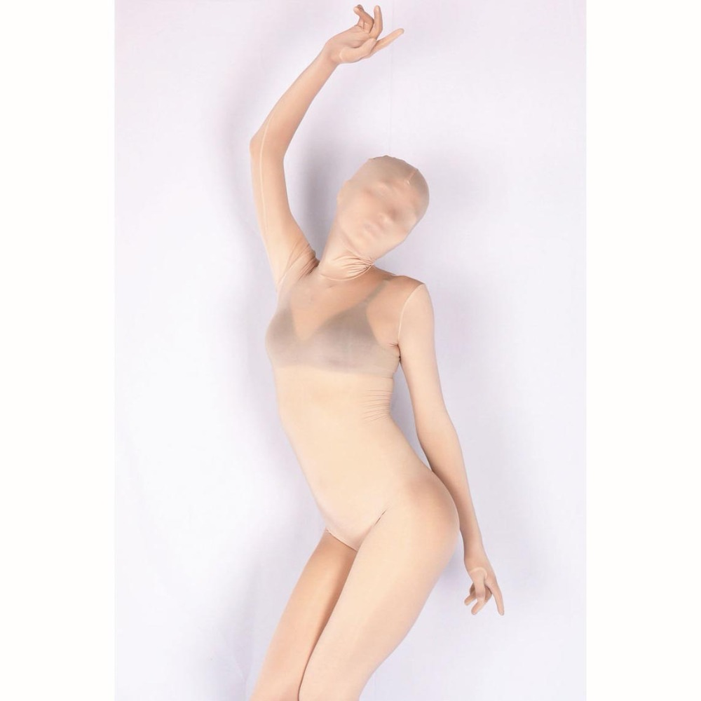Toes Separate Full Coat One Piece Tights Outside Seamless Modal Body Sculpting Stage Clothing Cosplay Zentai Costume Bodsuit XL