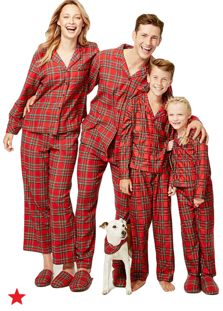 cf4aa1af91 Family Pajama Sets Mom Daddy Kids Baby Two Piece Set Plaid Pijama Sleepwear  Long Sleeve Casual House Wear 2019 Family Clothing