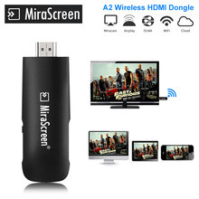 Mirascreen A2 HDMI WiFi адаптер Chromecast 2 зеркалирование несколько ТВ stick Chromecast 2 адаптер Mini PC Android, Chrome литой Google(China)
