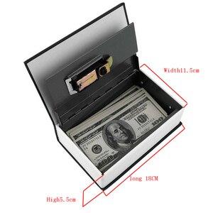 Image 5 - מילון מיני כספת ספר כסף להסתיר סוד אבטחה בטוח מנעול כסף מזומן מטבע אחסון תכשיטי מפתח הלבשה ילד מתנה DHZ002
