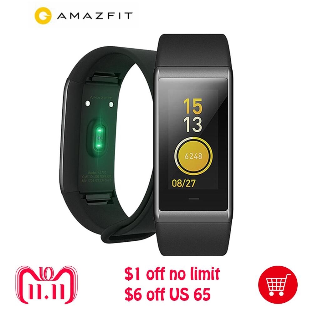 100% Original Xiaomi Huami Amazfit Cor MiDong Smart Bracelet 5ATM Waterproof 2.5D Color IPS Touch Screen 316L Stainless Steel байк водный aqquatix smart aqquabike 316l afa0013prw