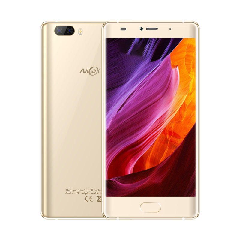 "2018 New Arrive Original AllCall Rio X Smartphone Android 8.1 1GB+8GB MTK6580M 15MP+5MP 5.5"" Quad Core Cellphone Mobile Phones"