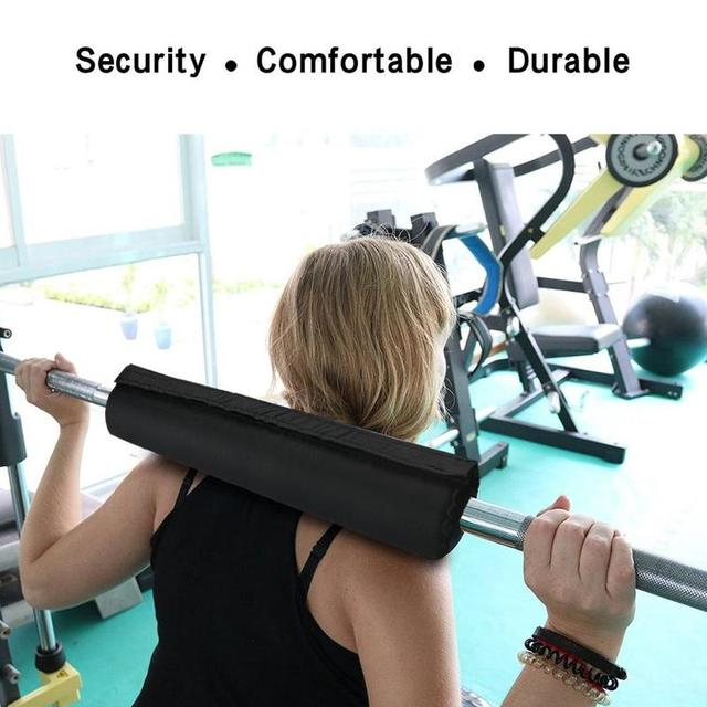 Squat Sponge Barbell Neck Shoulder Back Protect Pad Weightlifting Pull Up Grip Support Weight Lifting