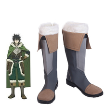 The Rising Of Shield Hero Naofumi Iwatani Tate no Yuusha Nariagari Customized Boots Anime Cosplay Costume Shoes