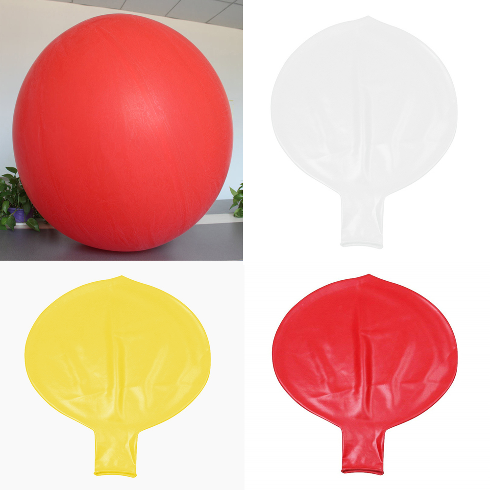 wedding : 1pc Big Round  amp  Oval Latex Balloons 72 Inchs Wedding Decoration Helium Large Ballons Birthday Party Decora Best Quality