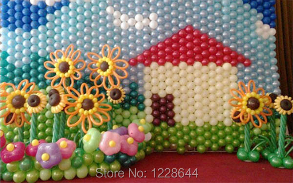 Free 20pcs/lot Balloon decoration Mesh Wall Party decoration Party ...