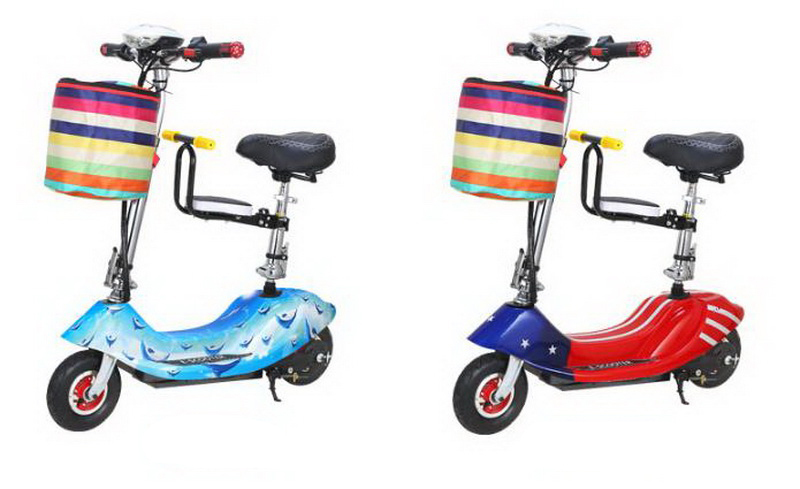 Clearance 261025/Ladies mini folding car bicycle scooter adult student portable two rounds/Scrub pedal 30-50km/h velo electrique 24