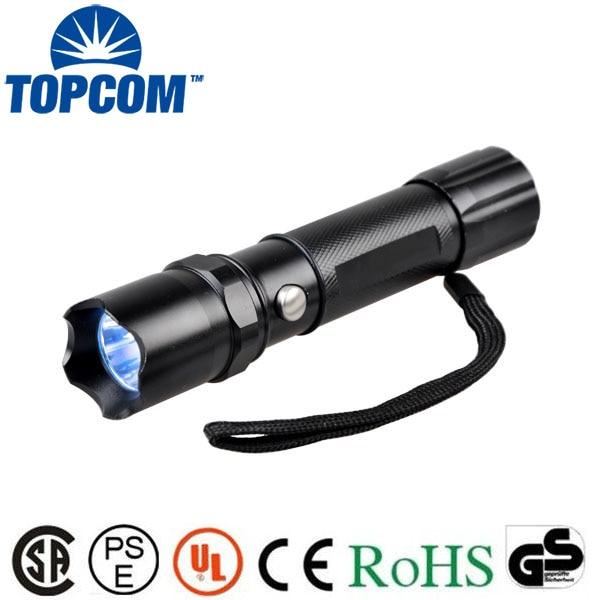 [Free ship] 5W 365nm uv flashlight UV ultraviolet Light UV Flashlight 365nm uv light with protective spectacles glass
