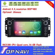 Top Quad Core Android 5.1.1 Car DVD For Chrysler/Sebring/Aspen/300C Cirrus/Commander/Compass/Grand Cherokee/Wrangler/Unlimited