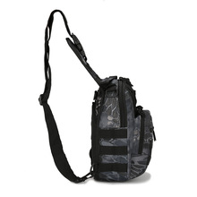 High quaity Small chest bags riding shoulder bag Nylon camouflage tactical outdoor mountain portable waterproof fishing bags