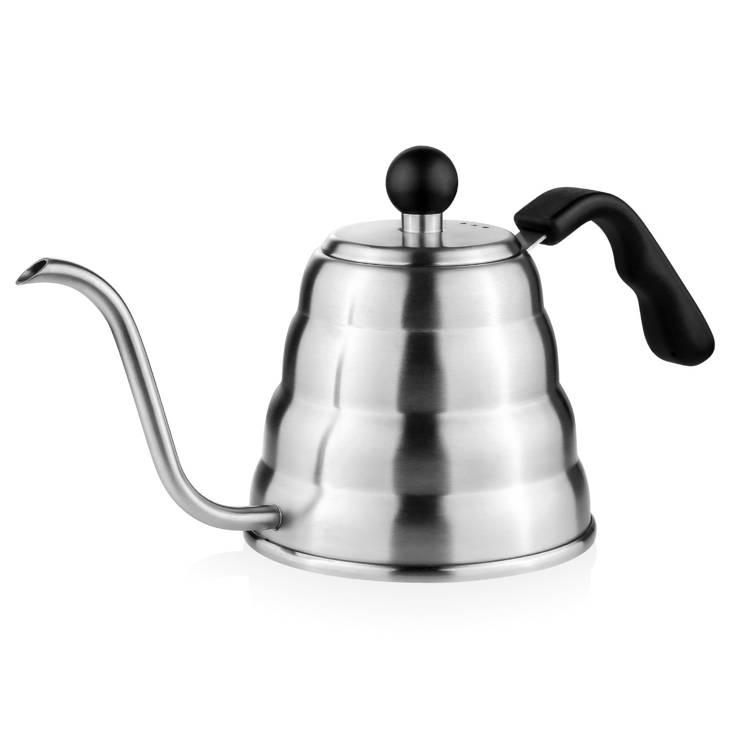 TOP Quality 304 Stainless Steel Pour Over Coffee and Tea Kettle, Drip Kettle pot coffee maker ...