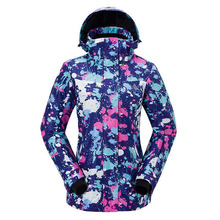 цена на Ski Jacket Women Snowboard Jacket Waterproof Snow Jacket Ski Sportswear Breathable Super Warm Winter Outdoor Sport Snow Coat