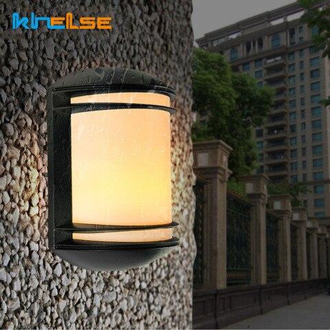 lampada de parede ao ar livre impermeavel