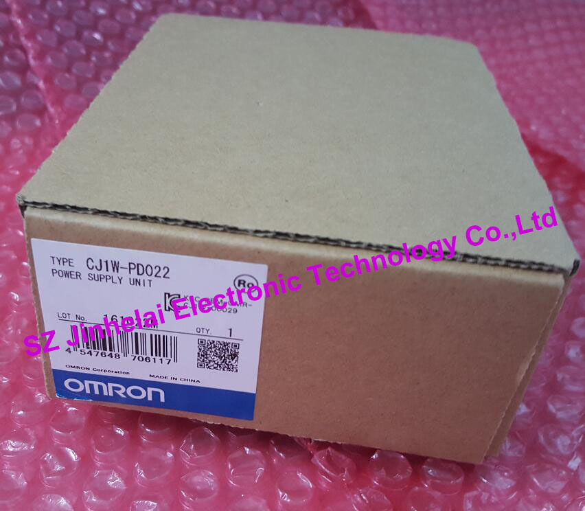CJ1W-PD022  New and original   OMRON Power module 100% new and original cj1w nc433 omron position control unit