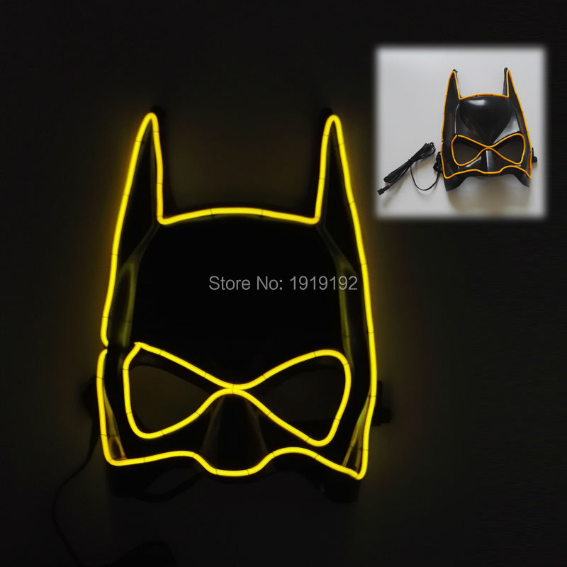 Vânzări fierbinți EL Mască de sârmă Mască de Halloween cu - Produse pentru sărbători și petreceri