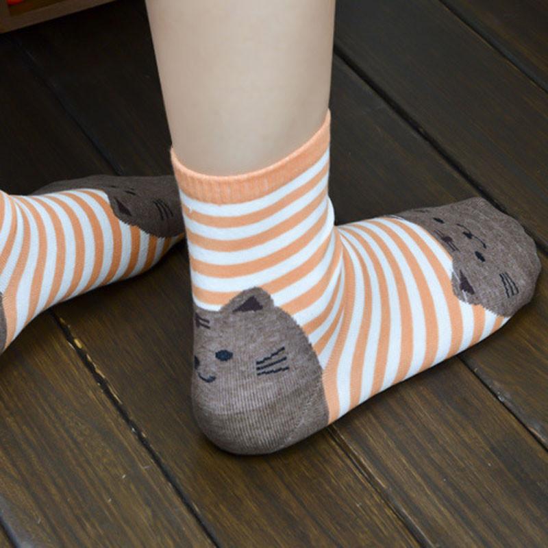 Cute Socks With Cartoon Cat For Cat Lovers Cute Socks With Cartoon Cat For Cat Lovers HTB1aj3bQVXXXXaZXVXXq6xXFXXX9