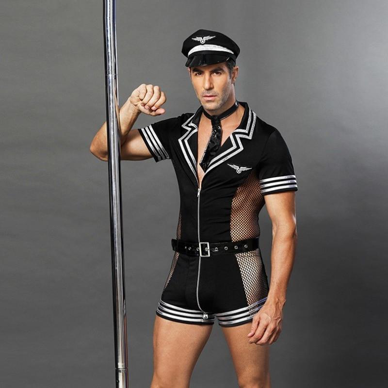 Men's Sexy Caveman Zebra Costume