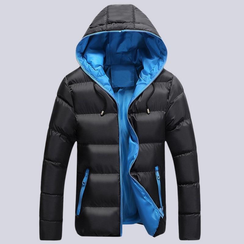 Yeni erkek Kış Sıcak Ceketler Parka Adam Moda Kalın Hoodie Erkekler Pamuk-Yastıklı Palto Gençlik Rahat Wadded Ceket erkek 4XL, UMA353