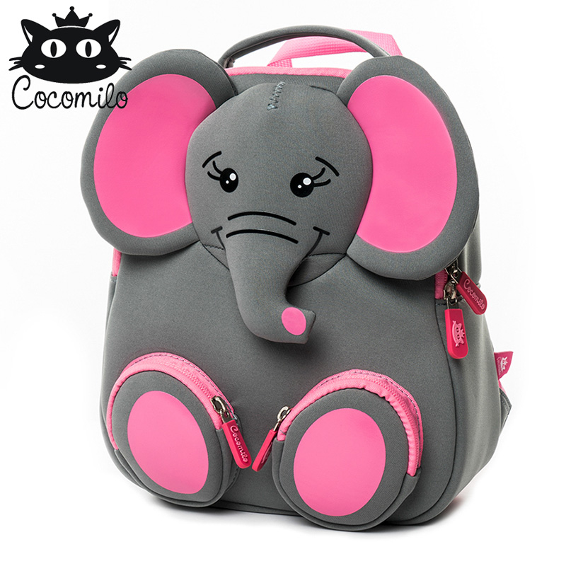71b134d2c4 Detail Feedback Questions about New Cartoon School Bags For Boys Girls  Elephant Backpacks Kid Small Bags Kindergarten Backpack Animal Design  Mochila ...