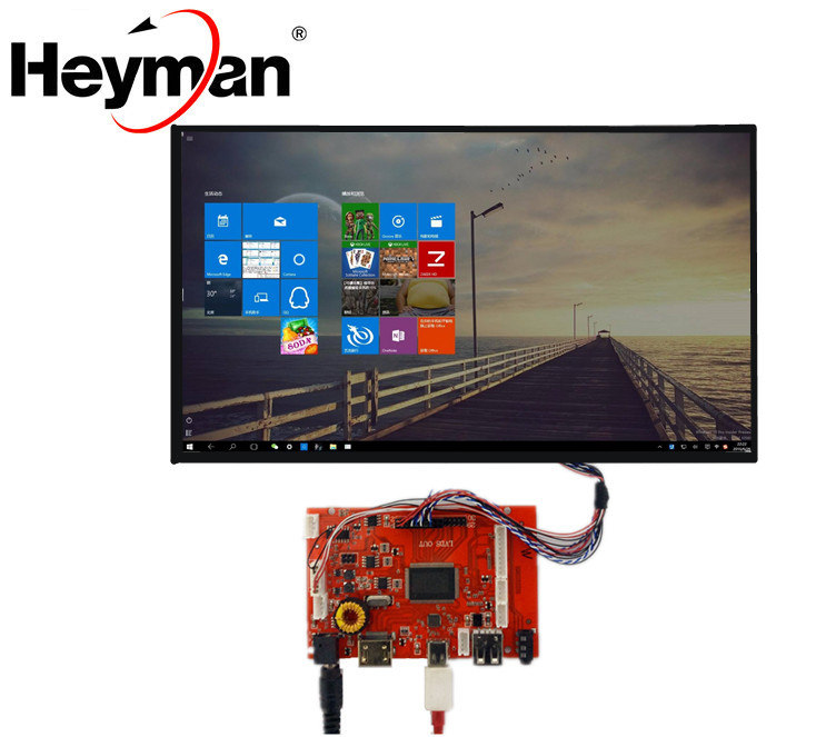 Heyman 10 inch Raspberry Pi LCD Display 1280*800 High Resolution Monitor Remote Driver Control Board 2AV HDMI USB TYPE- CHeyman 10 inch Raspberry Pi LCD Display 1280*800 High Resolution Monitor Remote Driver Control Board 2AV HDMI USB TYPE- C