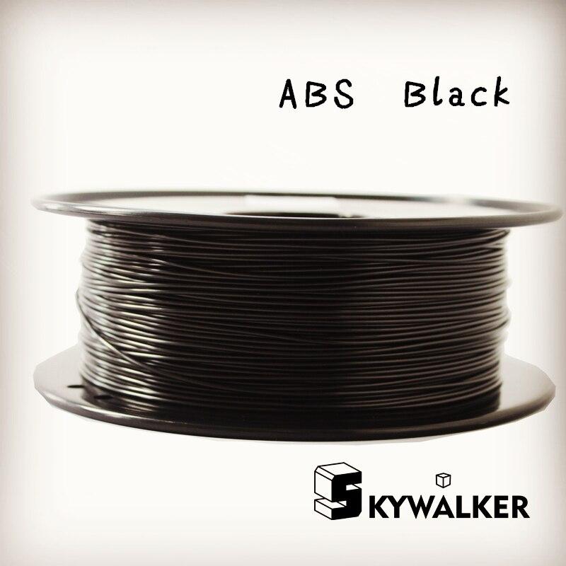 ФОТО Black color Retardant ABS Filament  ABS filament 1.75mm 1kg filament 3d printer filament 3d printer abs  plastic filament