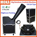 1 Pcs/lot high quality co2 confetti machine stage confetti blower confetti effect fx co2 jet machine