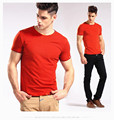 2017 Brand New Mens Cotton 100% Casual T-Shirt O-neck t shirt men Short Sleeve tshirt Top Tops Tee shirts