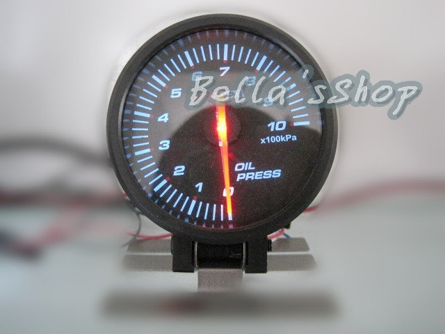 APEX 60mm oil pressure  gauge stepper motor auto performance  instrument racing meter white