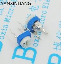 20 pcs RM065 RM-065 47 k ohm Trimpot Trimmer Potenciômetro resistor variável
