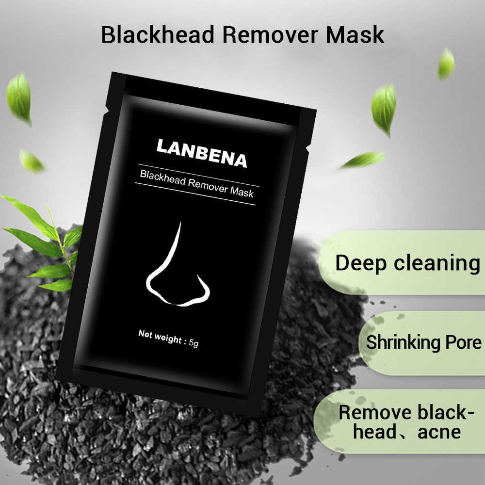 Dissolvant de points noirs nez noir masque soin du visage boue acné traitement décoller masque bande de pores soins de la peau Peel masque contrôle de l'huile