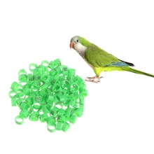 100Pcs 10mm Training Supplies Leg Number Bird Identify Ring Carrier Pigeon