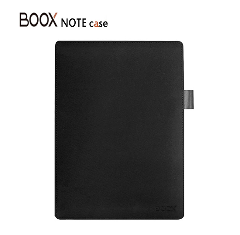 Boox Note Holster Embedded Original Leather case Ebook Case Top Sell Black And Gray Cover For