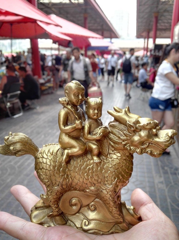 Brass Yilin delivery sub-ornamentsBrass Yilin delivery sub-ornaments