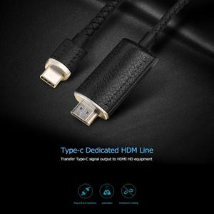 Image 4 - ALLOYSEED 2m USB C Type C to HDMI 4K Cable Adapter Type C HDMI Extension Cable For MacBook Pro Huawei Mate 20 Samsung S10 S9 S8