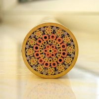 270mm length nail brass tube 18mm DIY knife handle screw More design exquisite style Knife DIY shank Mosaics Rivets