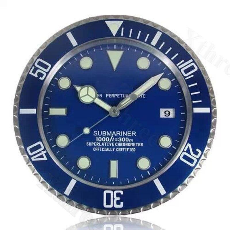Luxury Metal Wall Watches Home Decor Wall Clock Modern Design Art Watch Clock Relogio De Parede