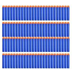 100 PCS Para Nerf Balas Macio Buraco Oco 7.2 centímetros Da Cabeça de Brinquedo Arma Balas Dardos para Nerf Série Blasters Recarga xmas Kid Presente Das Crianças