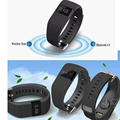 SH01 Bluetooth 4.0 Smart Bracelet Sport healthy Watch bracelet with Pedometer  Sleep Monitoring / answering call for IOS&Andorid