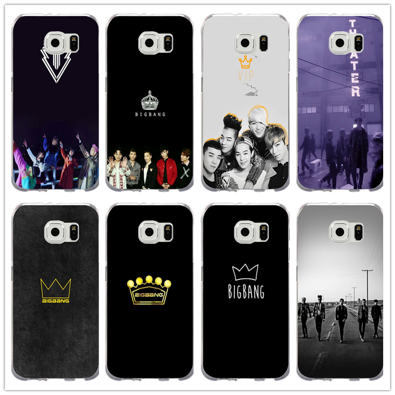 Hot Kpop Bigbang Vip Logo Soft TPU Cell Phone Cases Cover for Samsung Galaxy Note 2 3 4 5 8 S3 S4 S5 Mini S6 S7 S8 S9 Edge Plus