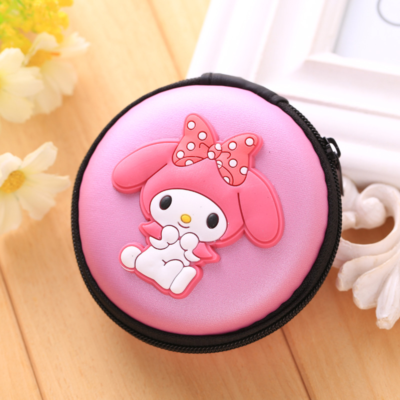 Cute Cartoon Silicone Coin Purse bolsas Mini Key Coin Wallets Headset Package Storage Holder monederos Pink Girl Coin Boxes Bags owl coin purses women wallets small mini cute cartoon card holder key headset money bags for girls ladies purse pink green blue