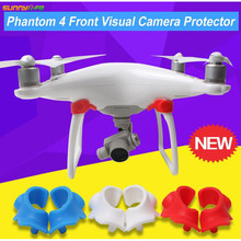 Sunnylife Phantom 4 Front Visual System Camera Cover Eyes Protector Dustproof Dampproof Moistureproof Cap for DJI Phantom Drone(China)