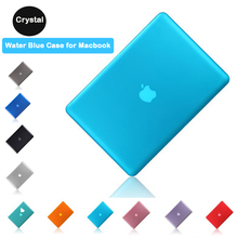 Transparent Crystal Shell Case for New Apple Macbook 13.3pro retina A1502 A1425 Air 13.3 A1369 with screen film+keyboard skin