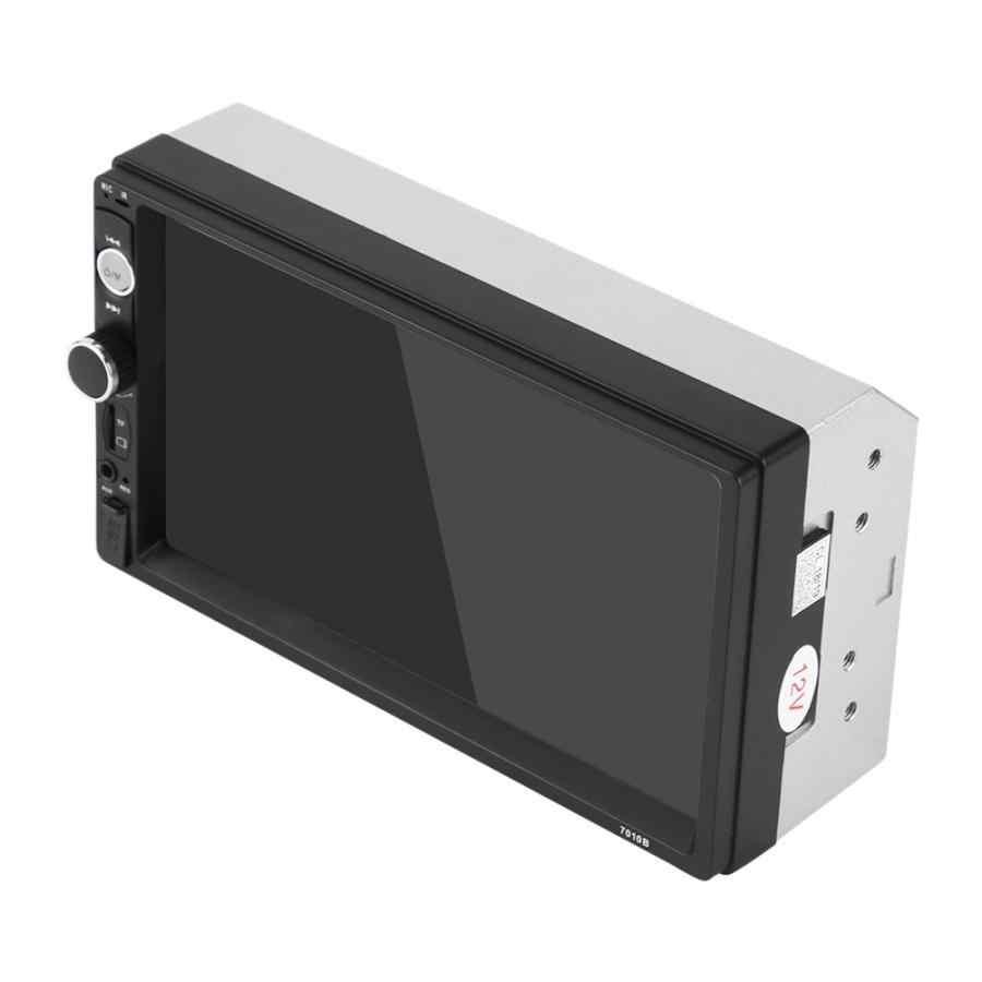 7 インチ車のラジオミラー HD 二重喧騒の Bluetooth MP5 プレーヤー FM ラジオ USB Aux リモートコントロールバックミラーカメラマルチメディアプレーヤー