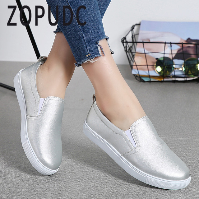 f0031890045 ZOPUDC 2018 Loafers Women Casual Shoes Spring Summer Classic Flats Shoes  For Female Breathable Soft Comfortable Women s Loafers
