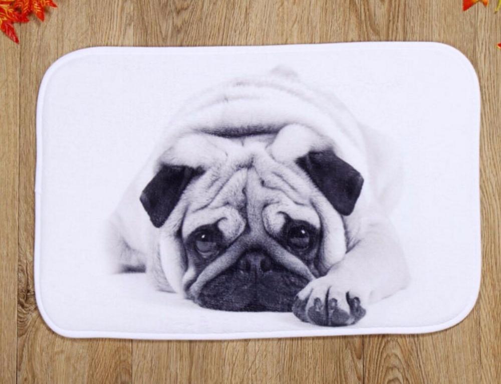 Pavimento In Gomma Per Box Cani : Silenzioso cane pvc tappetino da bagno antiscivolo tappetini da
