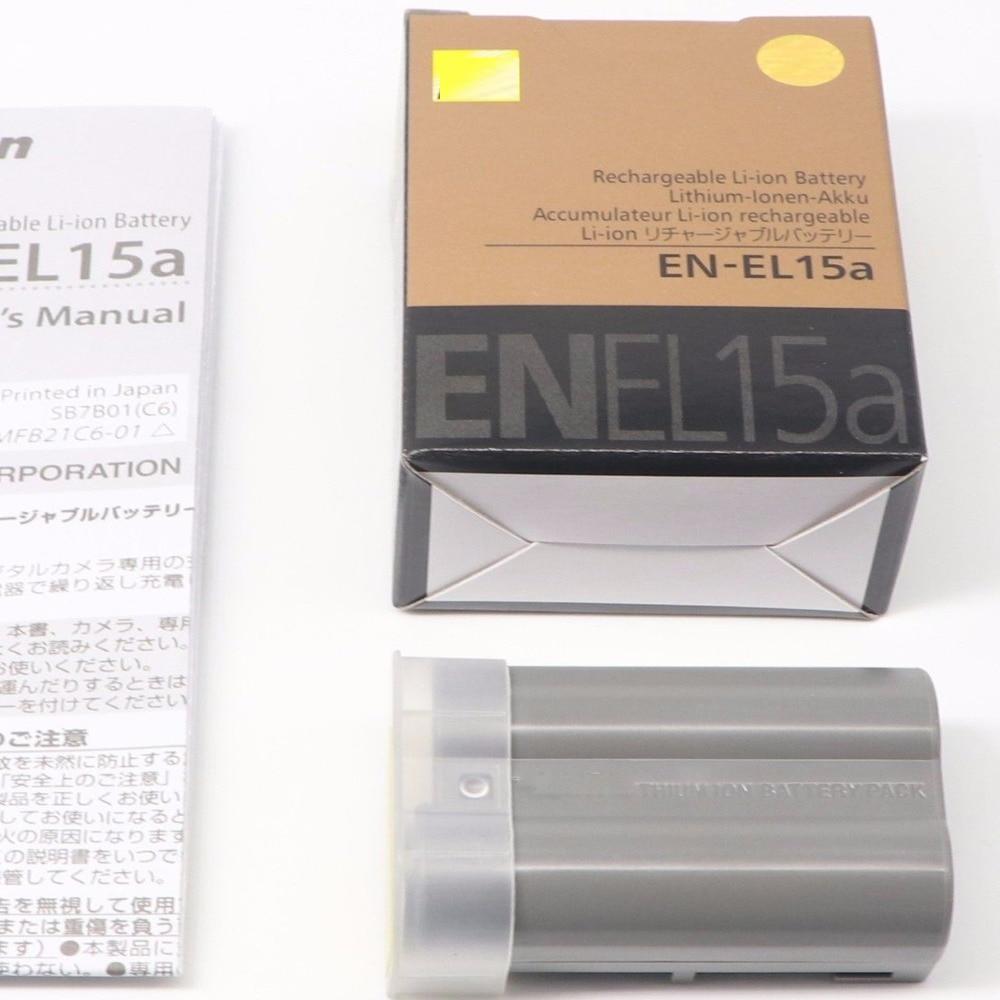 EN-EL15A ENEL15A EN EL15A  Battery For Nikon D850 D7000 D600 D810 D750 D610 D7500 D7200 MH-25 MB-D15 EN-EL15