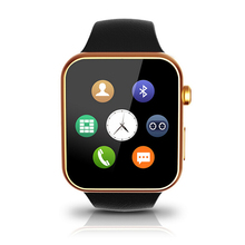 Original Leather Band Bluetooth Smart Watch Fitness Tracker Smartwatch Call Reminder Heart Rate Monitor for Android iPhone Sony