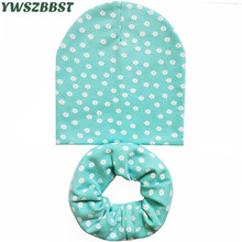 YWSZBBST 2020 New Spring Autumn Baby Hat Cotton Girls Hat Cap for Boys Toddler Beanie Infant Caps Winter Children Hat Scarf Set spring autumn winter baby beanie hat new born baby photography props children boys girls knitted i love papa mama baby caps h774