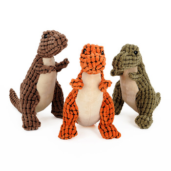 JORMEL 2Pcs Dog Toys Cute Animal Designs Pet Puppy Chew Squeaker Squeak Plush Sound Toy For Dogs Cats Pet Chew Products 1